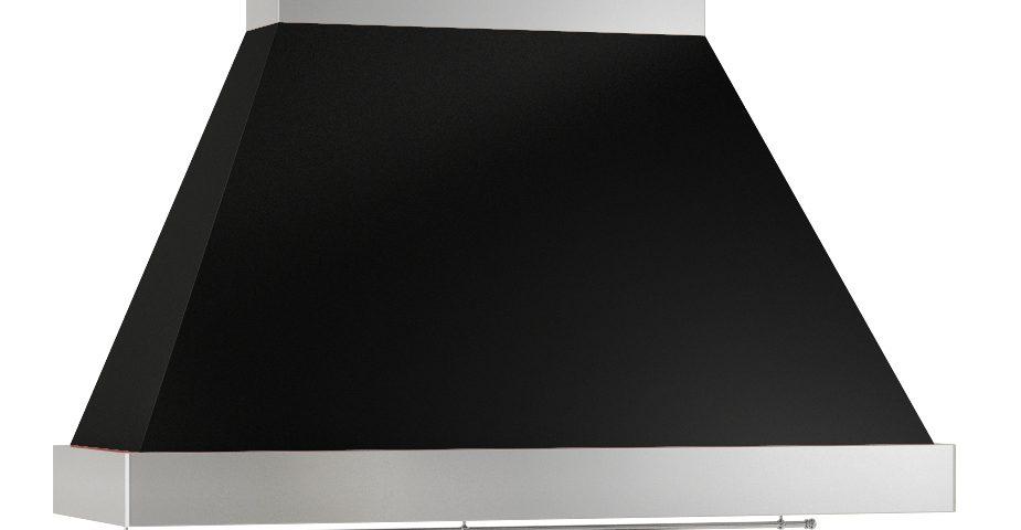 Campana K negra inox