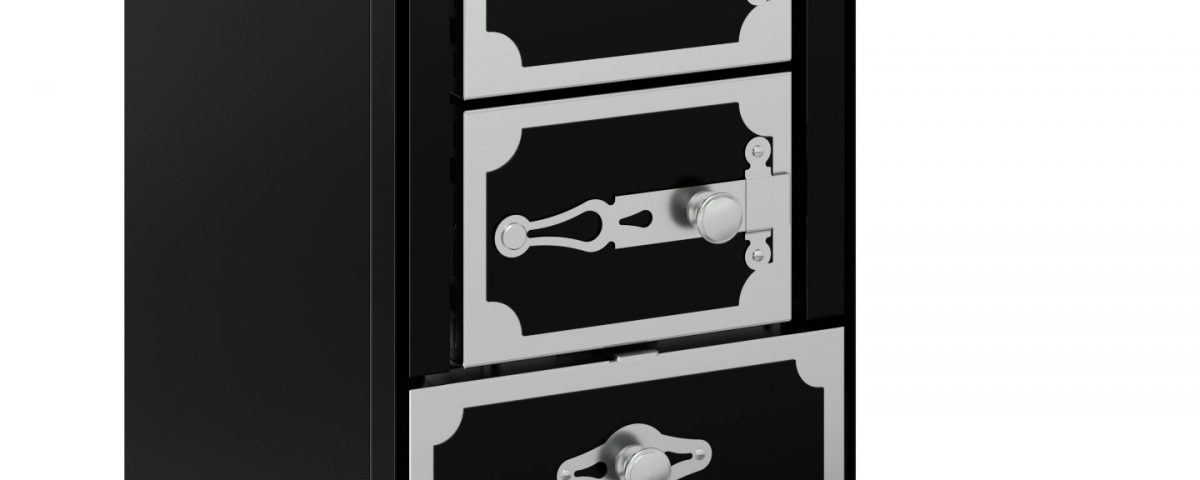 F40 negra puertas ciegas