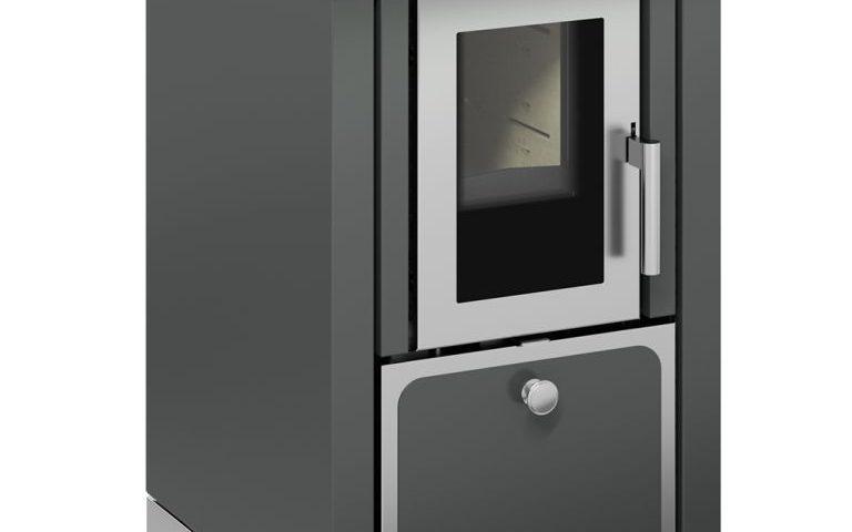 Classica F50 Gris puerta inox