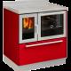 Classica F80 rojo puerta inox