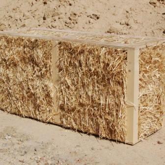 Construcción con paja