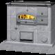 Cocina de leña esteatita LLU 1250