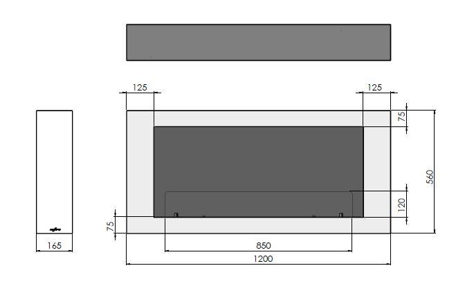 Esquemas estufa bioetanol MURALL 1200