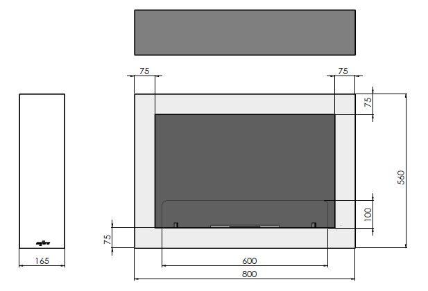 Esquemas estufa bioetanol MURALL 800