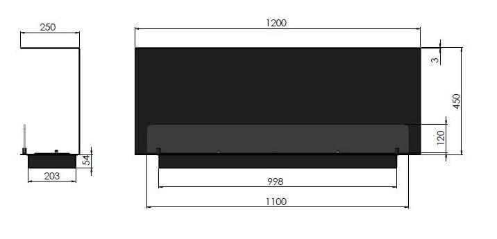 Esquemas estufa Bioetanol INSIDE C1200 V.1