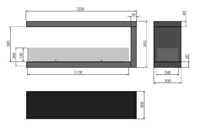 Esquemas estufa bioetanol INSIDE U1200