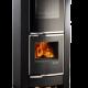 Estufa con horno De Manincor Z60F color negro