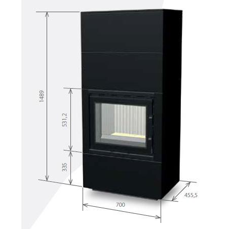 Medidas de la estufa 60B (1+2)