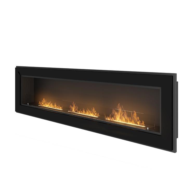 Estufa bioetanol Simplefire Frame 1800 con cristal