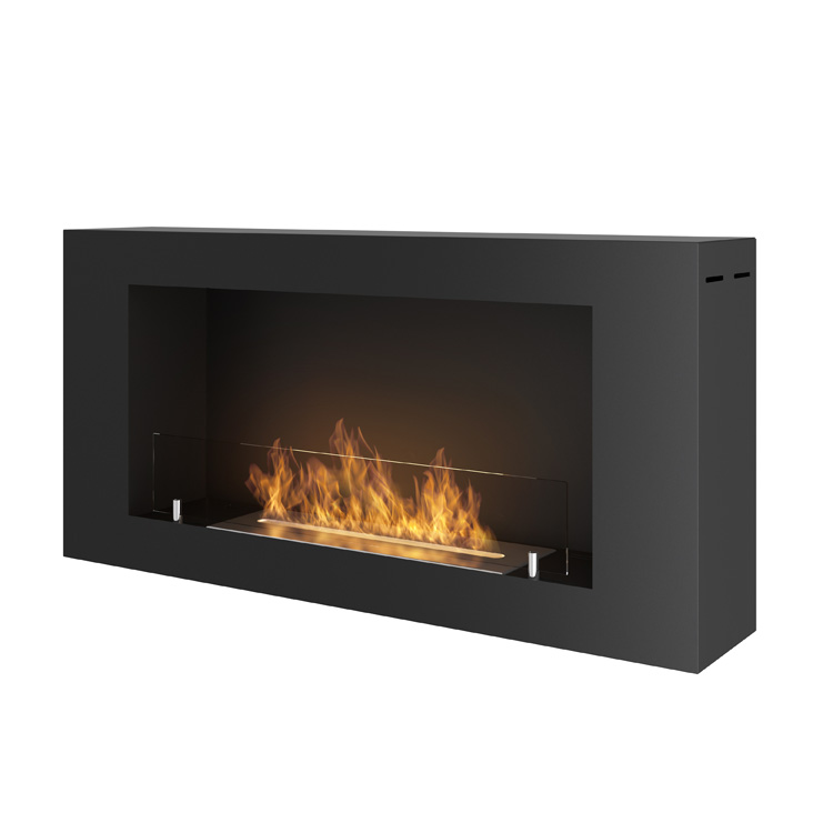 Estufa bioetanol Simplefire Blackbox 910 con cristal
