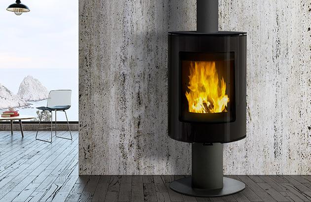 Foto de ambiente estufa Franco Belga Lounge 360